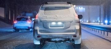 Из-за снегопада москвичей лишают водительских прав